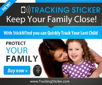 Tracking Sticker Keep Loved Ones Close