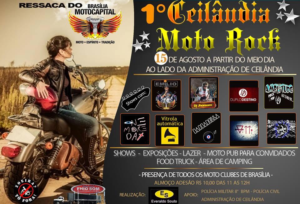 1º CEILÂNDIA MOTO ROCK!