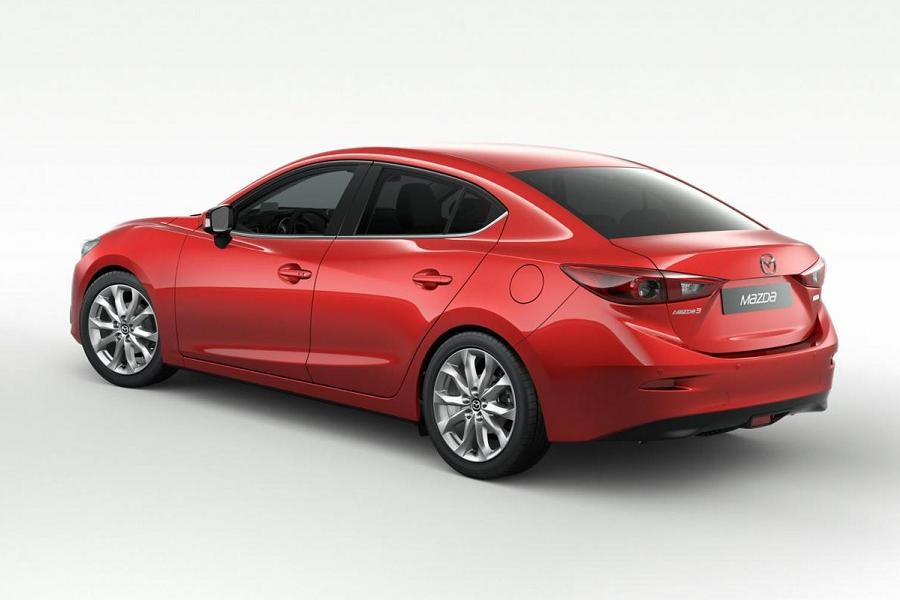 2014 mazda 3 saloon revealed autoesque. Black Bedroom Furniture Sets. Home Design Ideas
