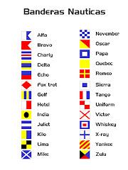 Banderas Náuticas.