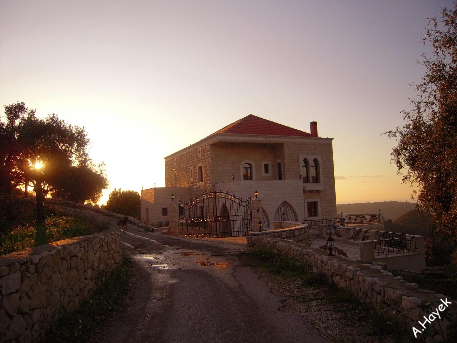 Pin maison traditionnelle libanaise baabdath liban flickr for Architecture maison traditionnelle libanaise
