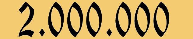 Ya tenemos más de 2 millones de visitas – ¡Gracias a nuestros lectores!