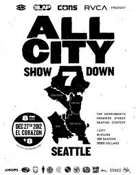 SKATERNOISE All City Showdown Seattle