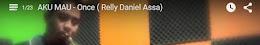 Instrument AKU MAU - Once ( Relly Daniel Assa)