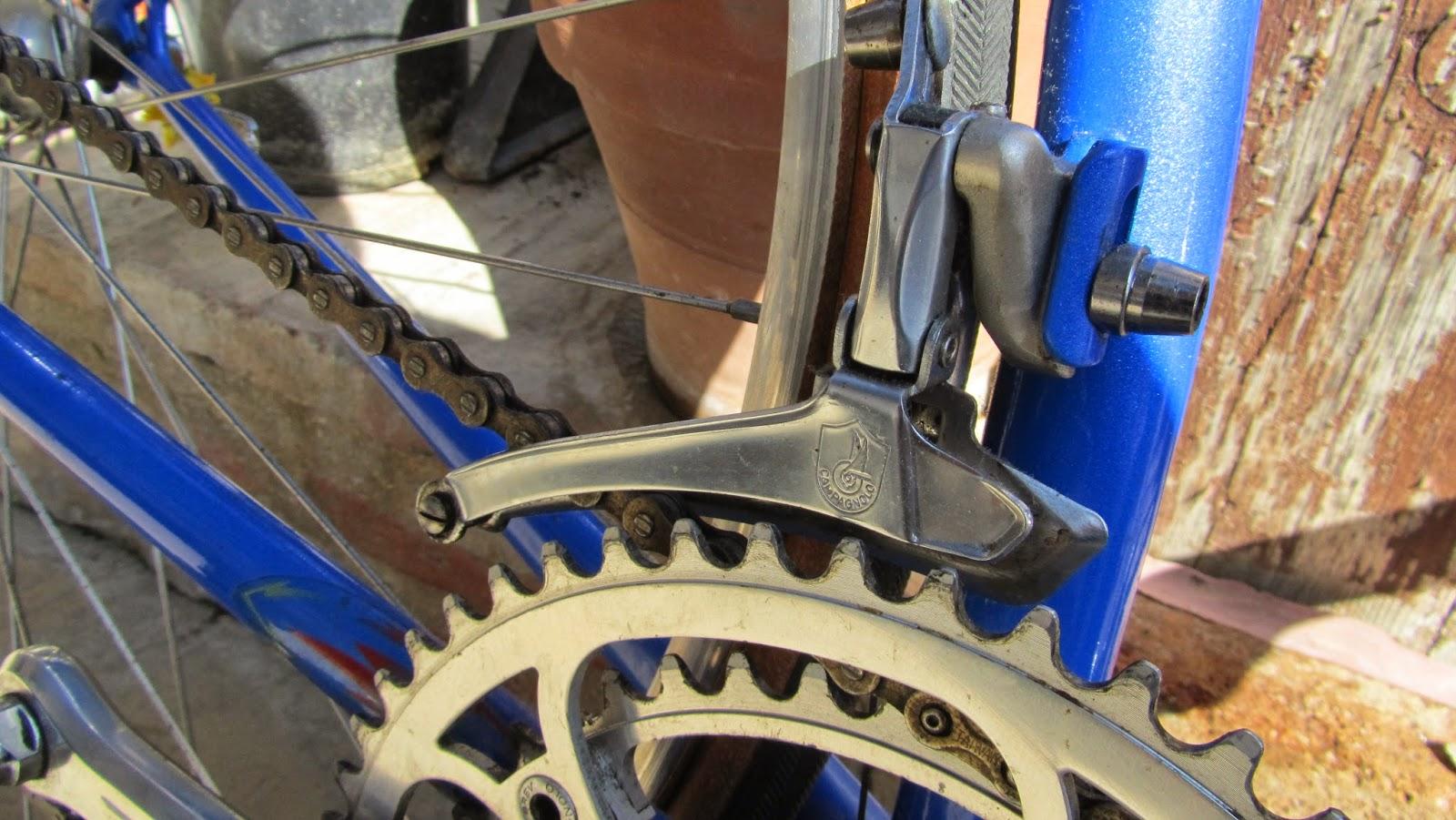 bicicleta orbea contrarreloj desviador campagnolo