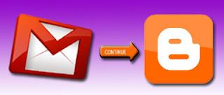 logo gmail dan blogger