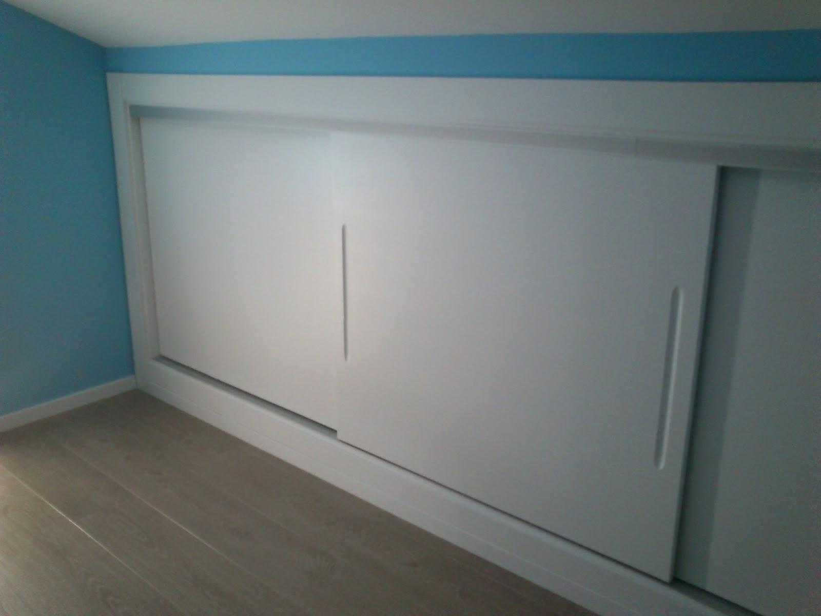 Carpinteria viosca roda frente de armario corredera apaisado - Frente armario corredera ...