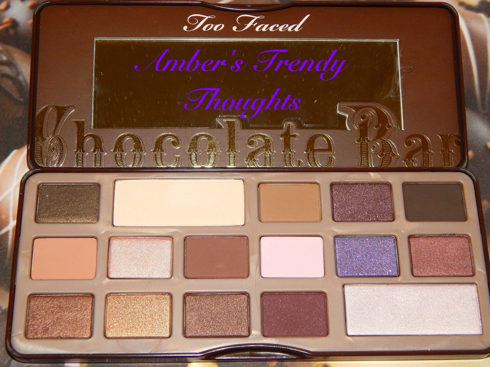Too Faced Chocolate Bar Palettes Worth The Hype? | Amber's Trendy ...