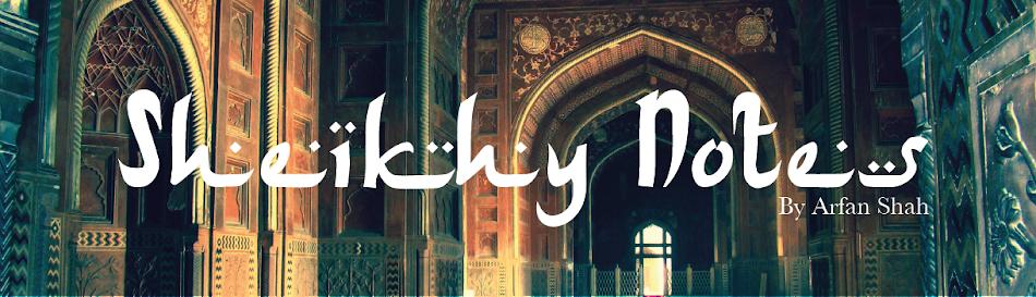 Sheikhy Notes