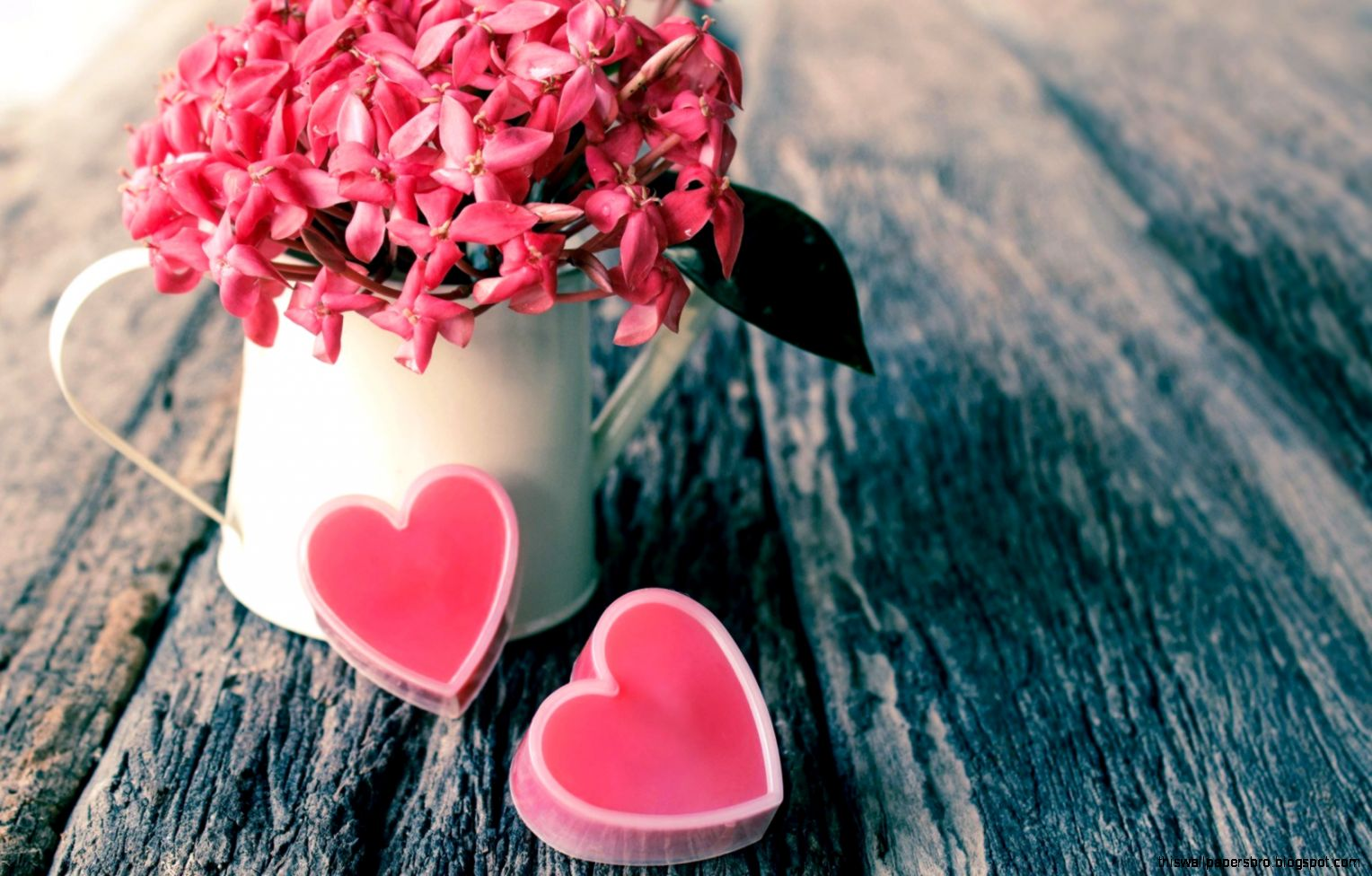 love hd pink heart flowers love heart flowers | this wallpapers