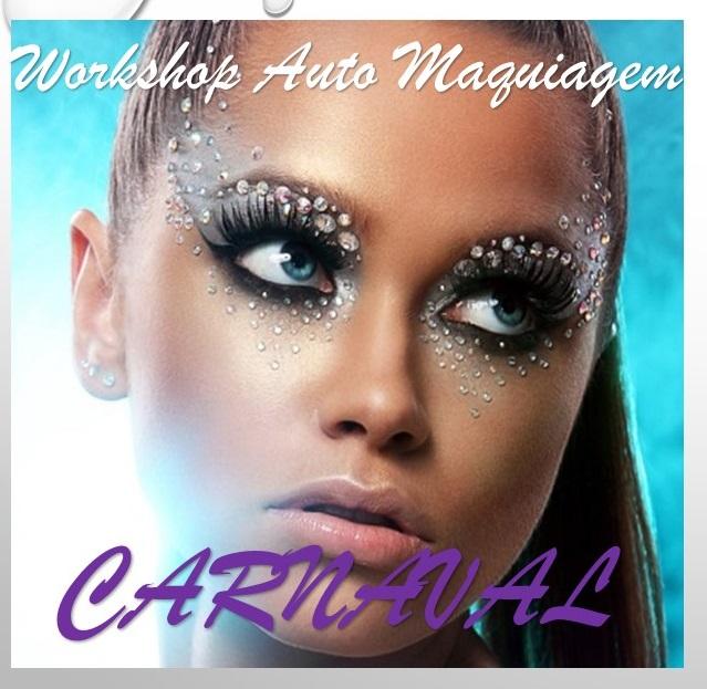 Workshop Auto Maquiagem de Carnaval