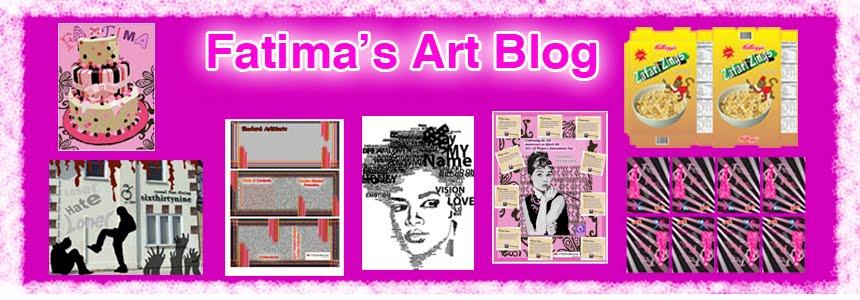 Fatima's Art Blog