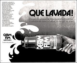 Germfim, 1974. década de 70. os anos 70; propaganda na década de 70; Brazil in the 70s, história anos 70; Oswaldo Hernandez;