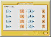Fracciones y números mixtos.