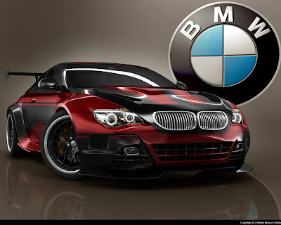 Red bmw Modificationwallpeper