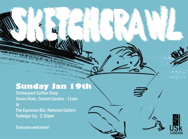 Urban Sketchers London: January 2014