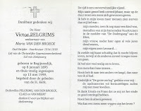 Oud-strijder en vuurkruiser Victor Pelgrims 1895-1999