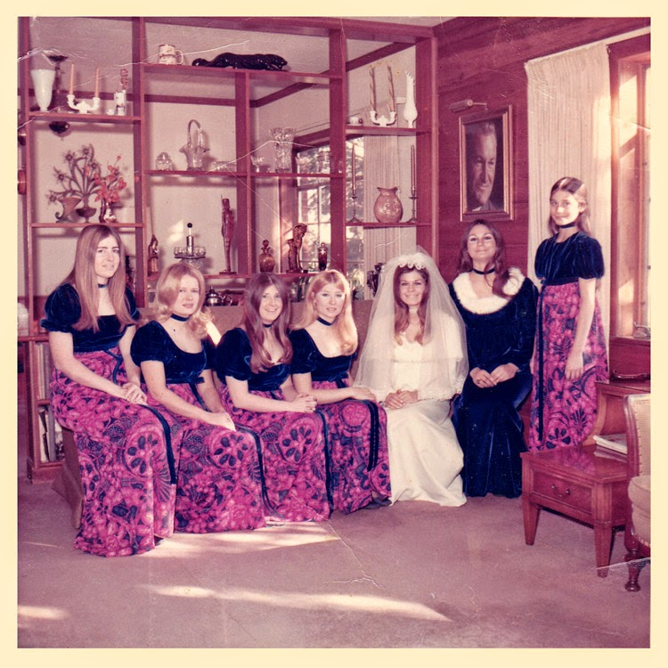 Wedding Bridal Party December 4, 1971