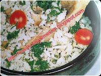 naneli pirinç pilavı