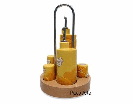 A casa di paco la serie cucina primula gialla thun - Orologio cucina thun ...