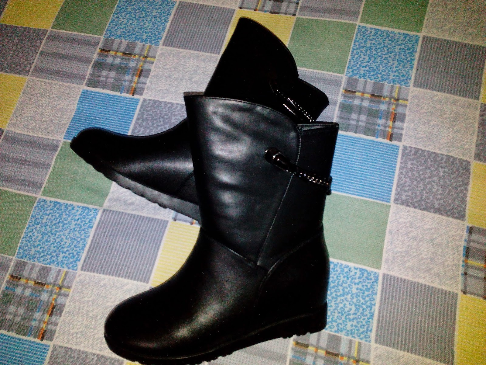 Black Leather Boots 2