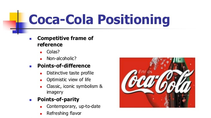 coca cola s marketing strategy Marketing strategy of coca cola 1 executive summary coca-cola is a carbonated soft drink sold in the stores, restaurants, and vending machines of more than 200 countries.