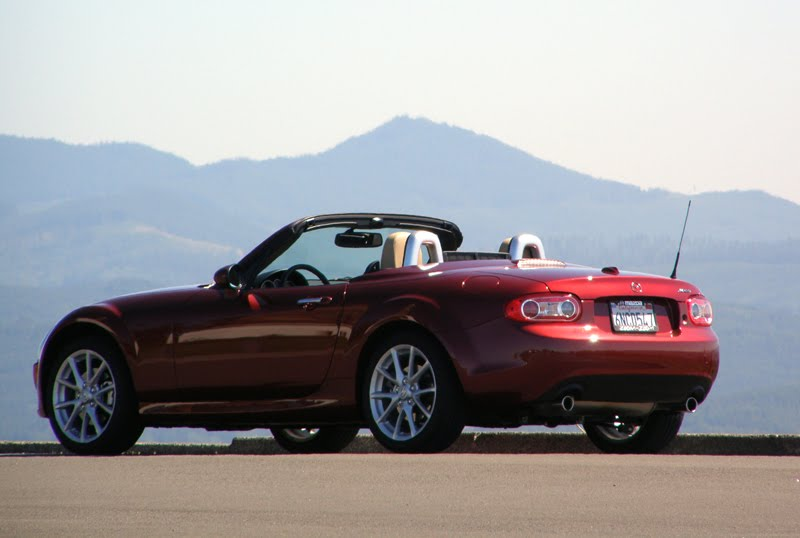 Mazda MX-5 Miata is a ton of fun to drive with a stick shift