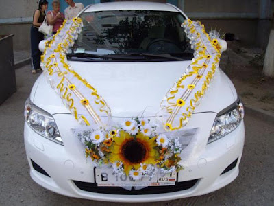Wedding Car Decorations Ideas