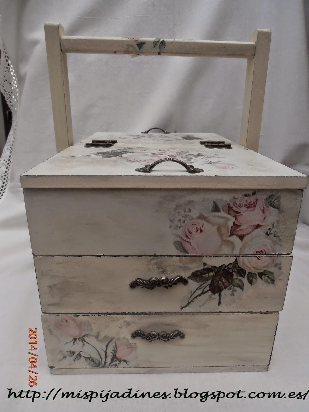 Caja con cajones aprender manualidades es - Caja joyero ikea ...