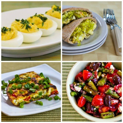 Ideas for using leftover foods from Easter.