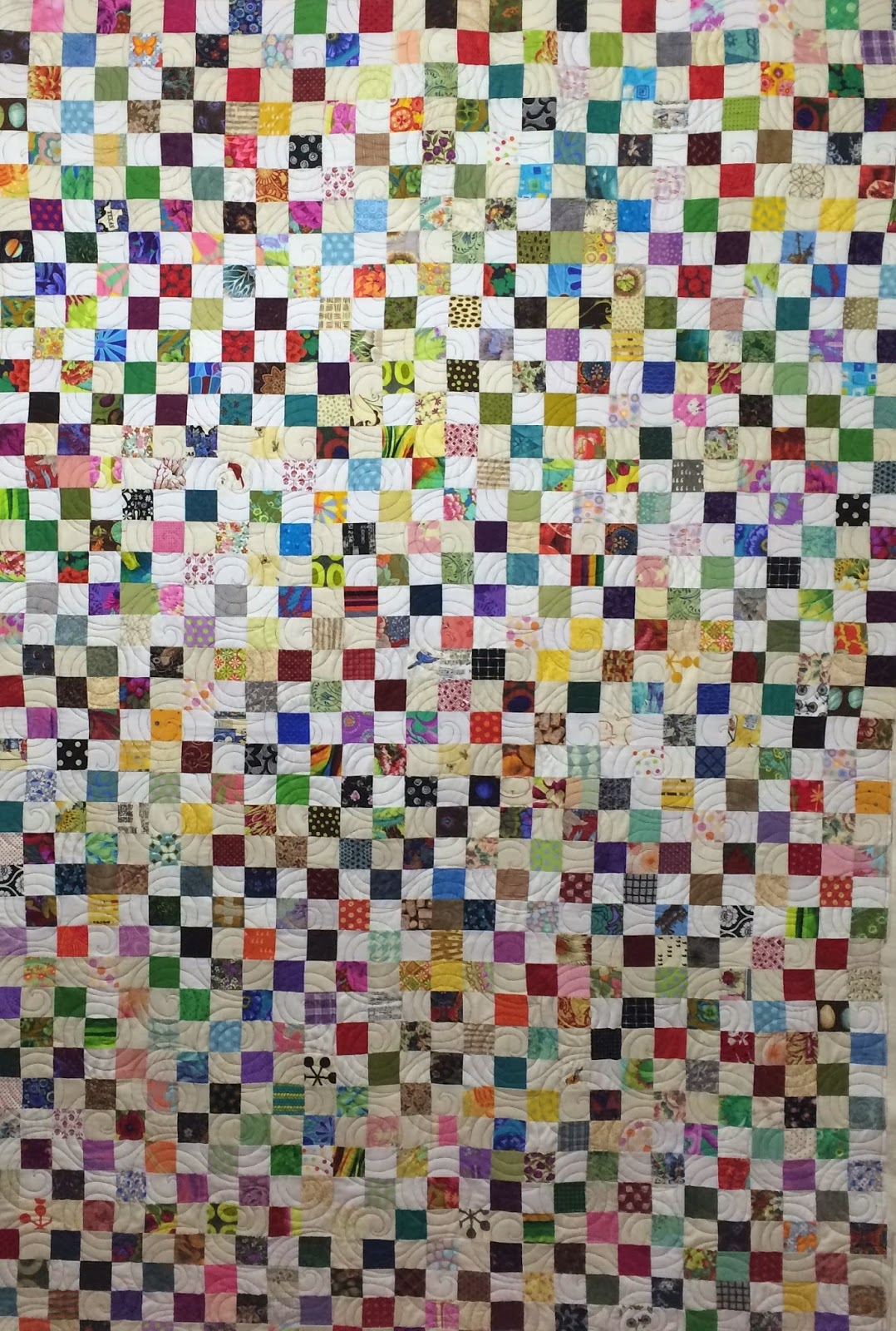 Jean Tucker's Scrappy Mosaic Quilt