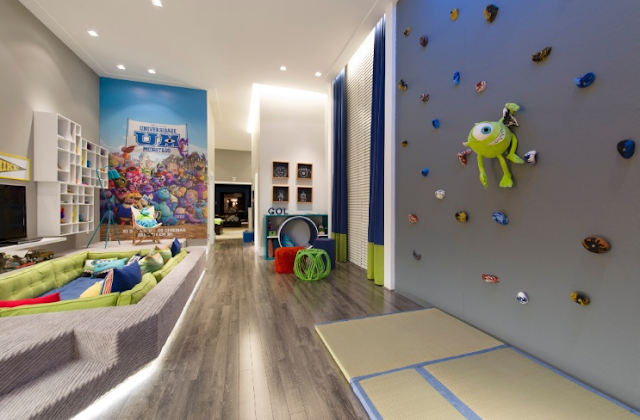 Dormitorio Niño inspirado en Monsters University