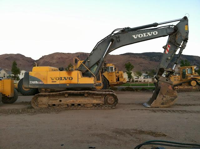 Volvo EC460BLC Hydraulic Excavator