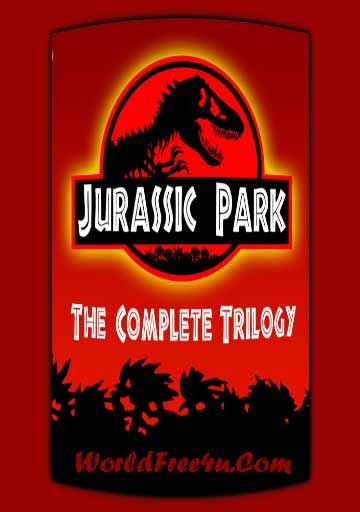 Poster Of Jurassic Park Trilogy Movie Pack In Hindi English Dual Audio 300MB Compressed Small Size Pc Movie Free Download Only At worldfree4u.com