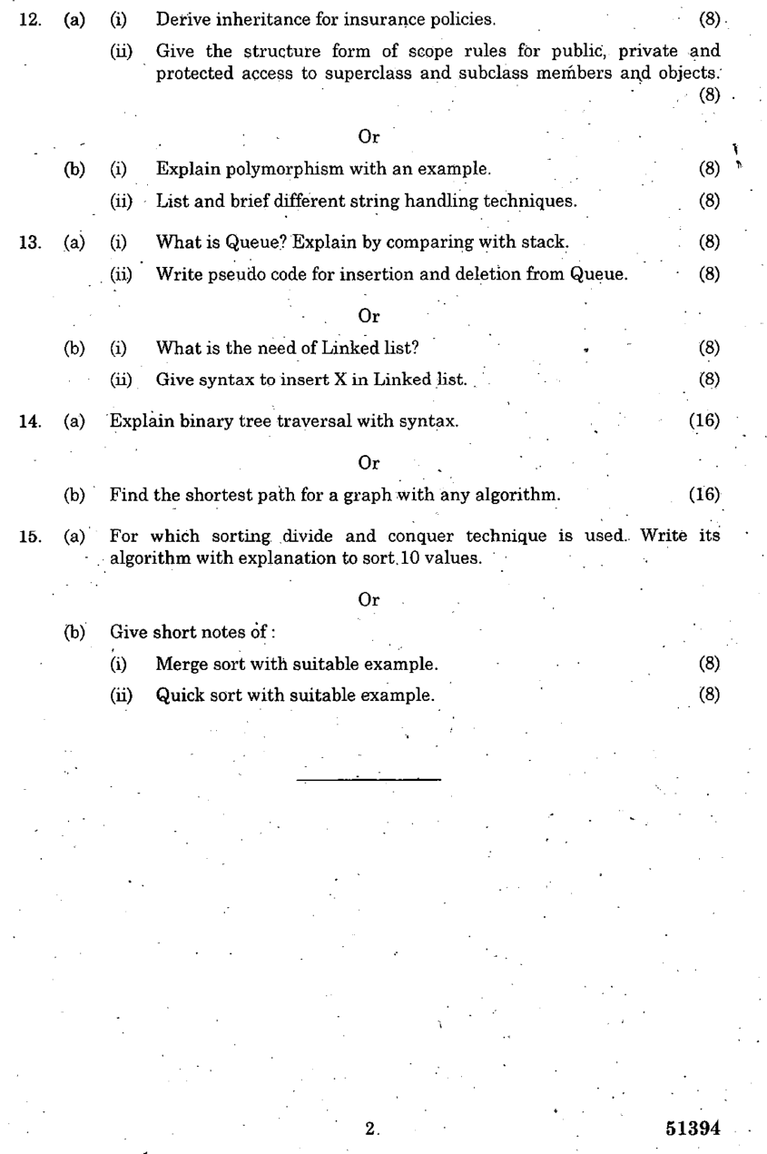 ge2022 total quality management question papers anna university