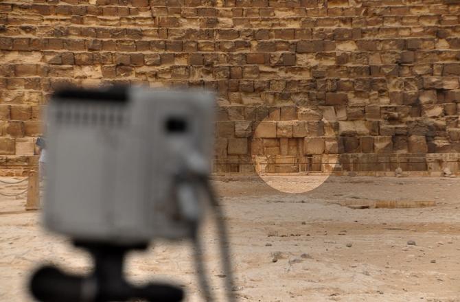 technologies telles que la thermographie infrarouge la radiographie muon et la reconstruction 3d afin de regarder lintrieur des quatre pyramides