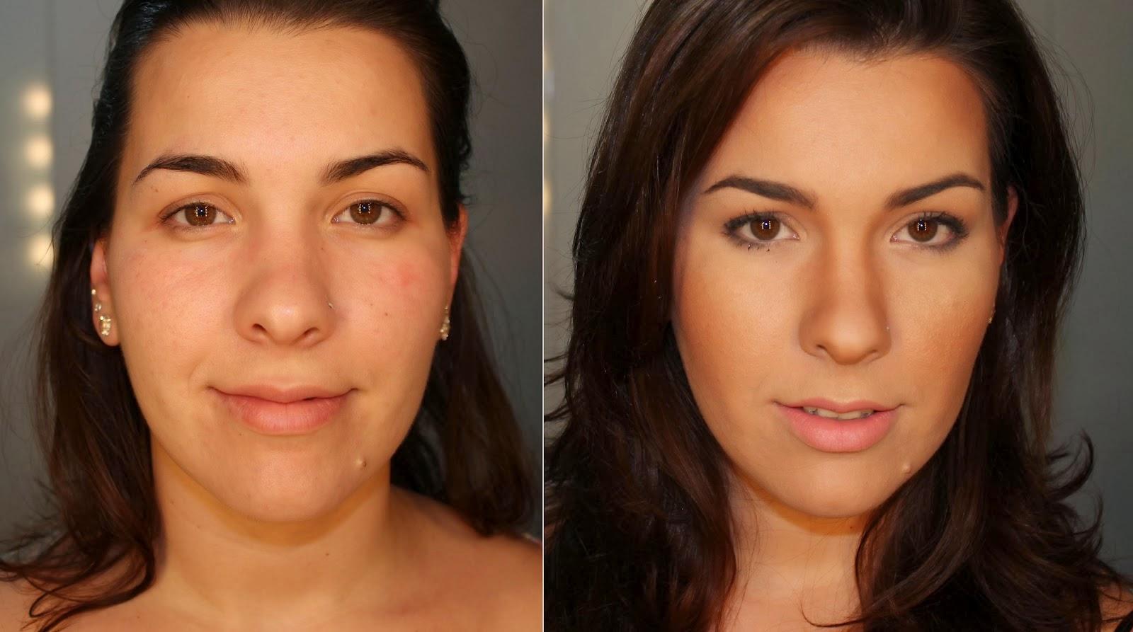 All My Looks: Antes e depois maquiagens de clientes
