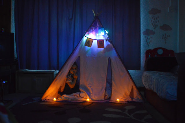 Houseology Sebra Wigwam Playtent tipi kids home
