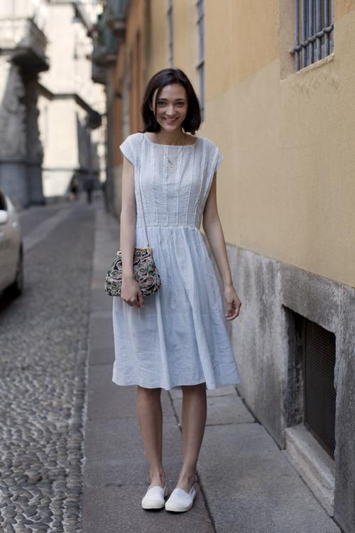 Платья для обуви на плоской подошве
