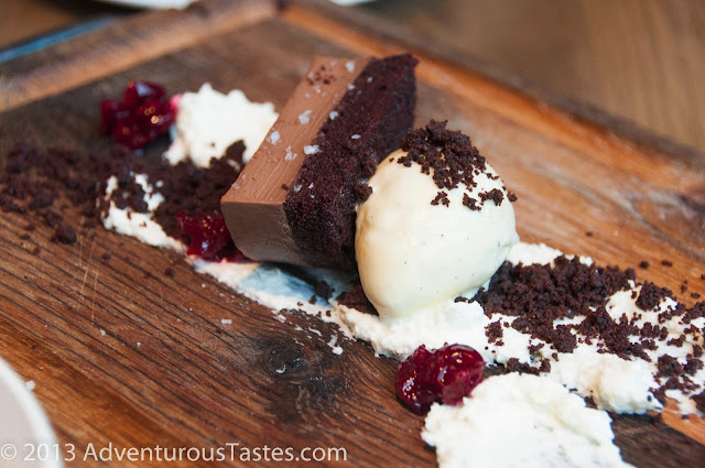 Black Forest cake at King + Duke in Atlanta