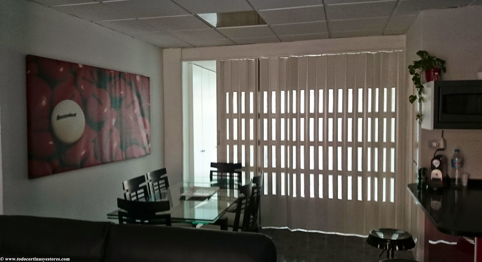 Decoracion Interior: Cortinas Verticales, Estores Enrollables ...