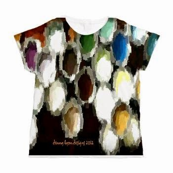 Paint Dots Brights Women's All Over Print T-Shirt
