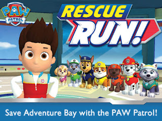 PAW Patrol Rescue Run HD Android GAME