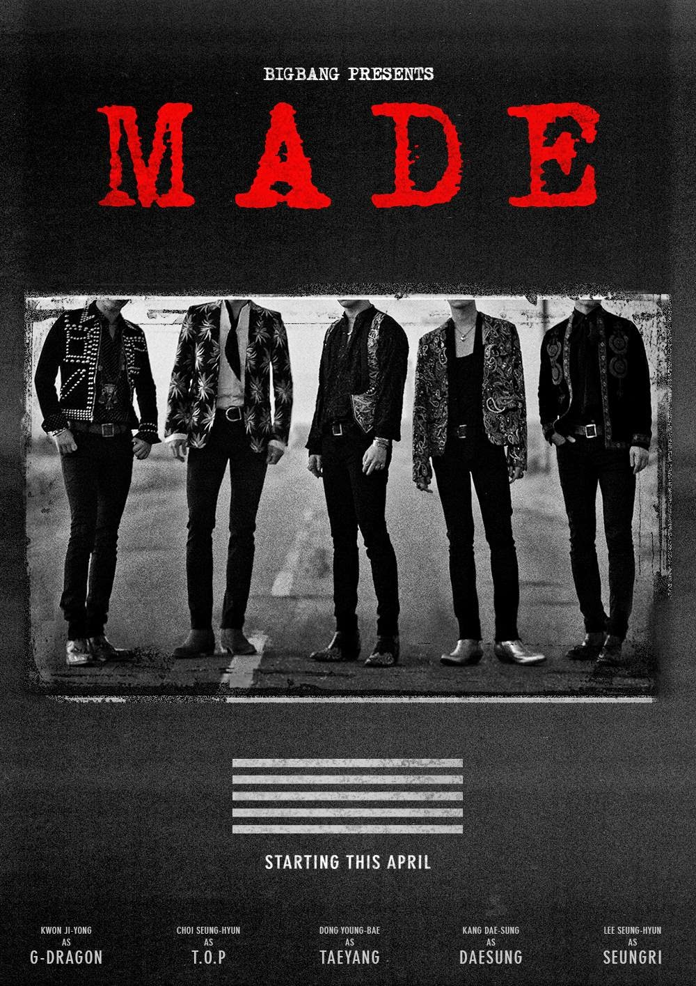 Big Bang MADE Poster