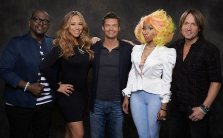Its official meet your new american idol judges keith urban nicki meet your new american idol judges keith urban nicki minaj mariah carey and randy jackson m4hsunfo