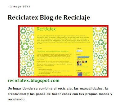 Reciclatex sale publicado en Directoriopax