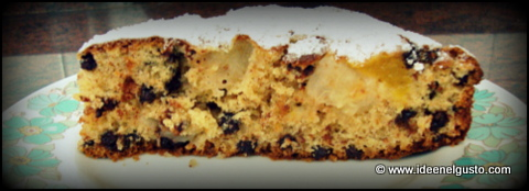 ricetta torta pesche