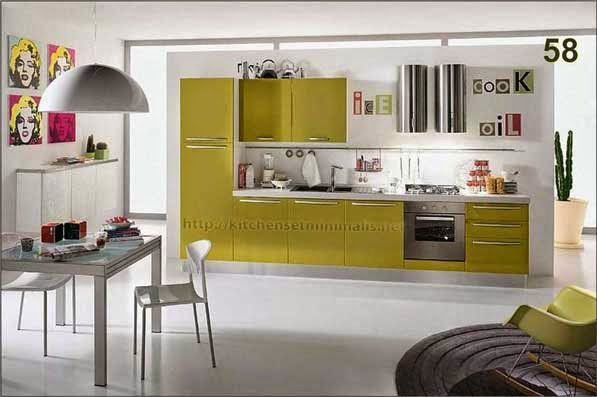 Berbagai Jenis Harga Kitchen Set Minimalis 100 Rumah Minimalis
