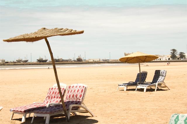 plage privée Essaouira