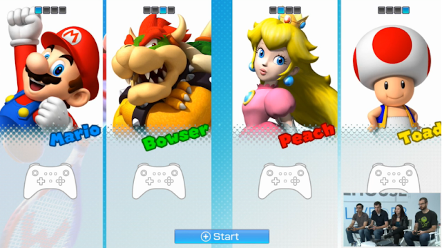 Mario Tennis: Ultra Smash Bowser Peach Toad art renders models picture